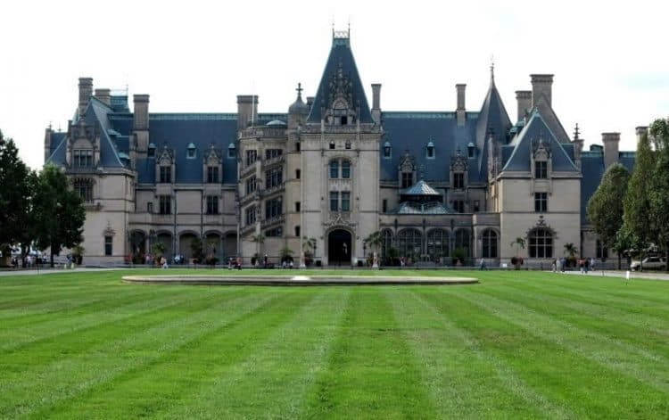 The Biltmore House, the largest house in America, is also known as 'the Lady on the Hill.' Tab Hauser photos.