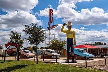 America's Highway, Route 66–Cowboys and Cadillacs