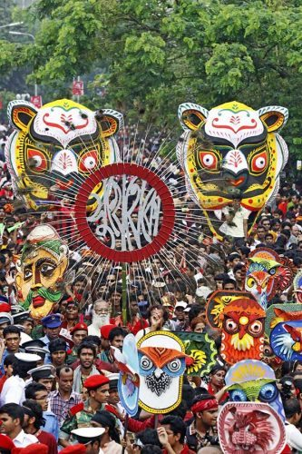 """Bangladesh is known as the """"Land of Festivals."""""""