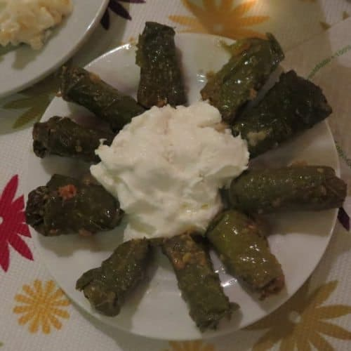 Dolmades are another classic Greek food popular in Crete.