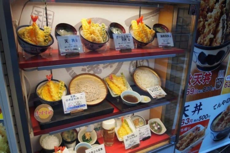 All of the plastic and rubber food you see outside of restaurants in Tokyo is made at Ganso Sample, a small shop in the Kitchen-town neighborhood of the city.