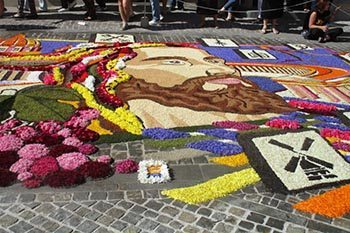 Spello, Italy: The Infiorata Covers the Streets with Flowers