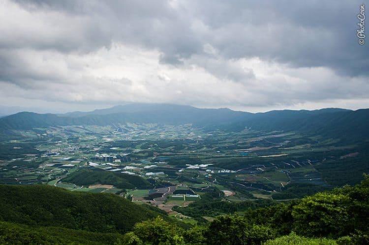 The Yanggu Valley in Korea.