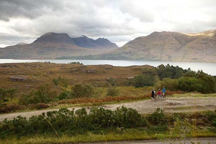 The landscape changes if you drive for 40 minutes in Scotland