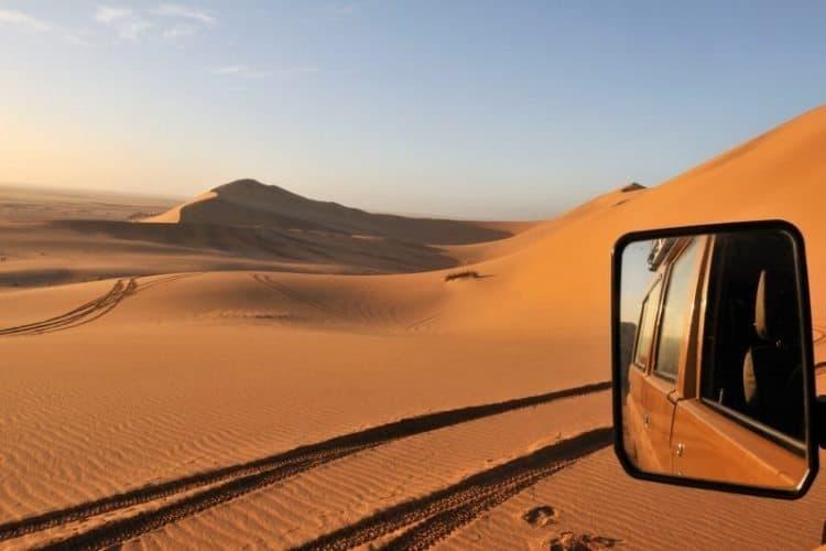 Africa / Namibia / Dunes of Swakopmund / Skeleton coast. Photograph by Richard Manin/Anzenberger/ Redux Pictures