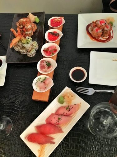 Sushi is just like Art. Created by Chef Mike Andrzejewski of SeaBar restaurant in Buffalo