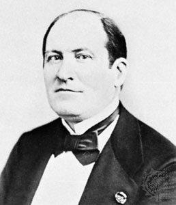 Baron Georges-Eugene Haussmann.