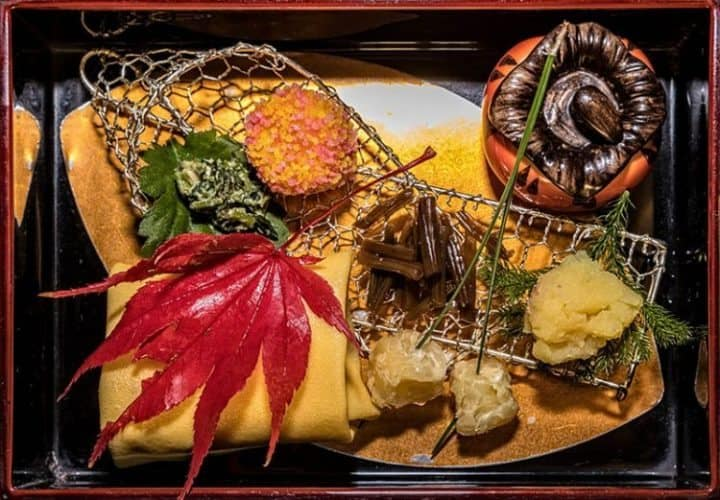 At Imozen a restaurant in Japan that specializes in sweet potato.