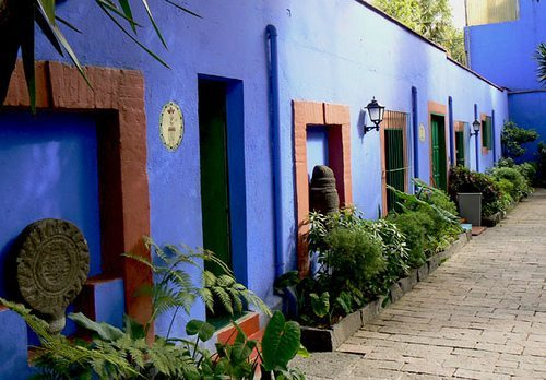 La Casa Azul in Mexico City is a popular tourist attraction for fans of the popular artist.