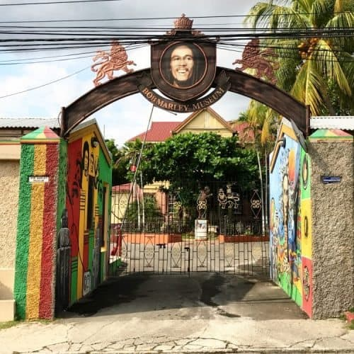 The Bob Marley Museum, what used to be Marley's old home, is a staple in Jamaica and is open for all to enjoy