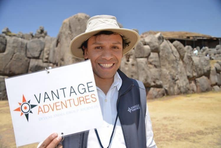 Enrique Virto is the best travel guide in Peru. Ask for his services when you book with Vantage Adventures.