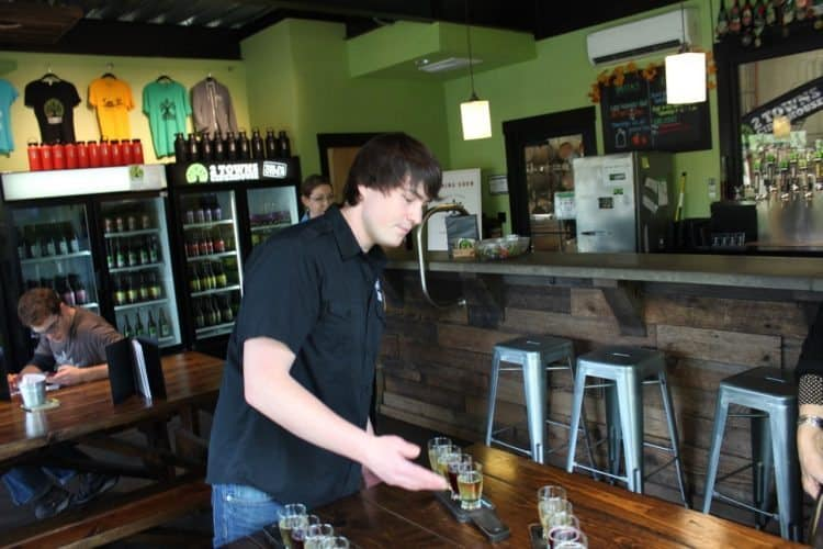 TwoTowns Cider tasting room