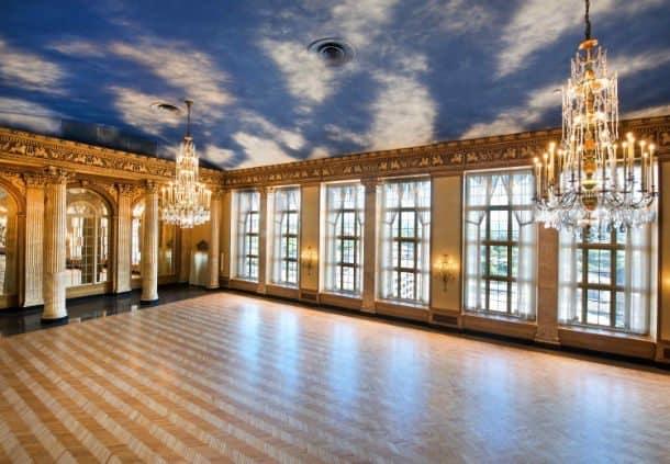 The Grand Ballroom on the tenth floor