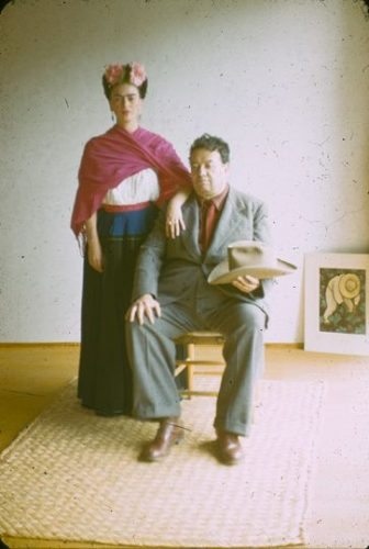 Frida and her husband, artist Diego Garcia, traveled to San Francisco during the 1930s.