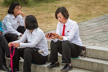 North Korea Moves to Modernity