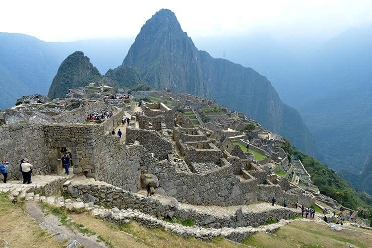 This is the classic Machu Picchu shot taken near the caretaker's hut. Sonja Stark photos.