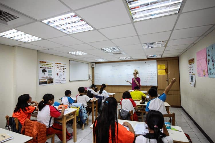 It's quite easy to get a job teaching in Taiwan, and the money is great.