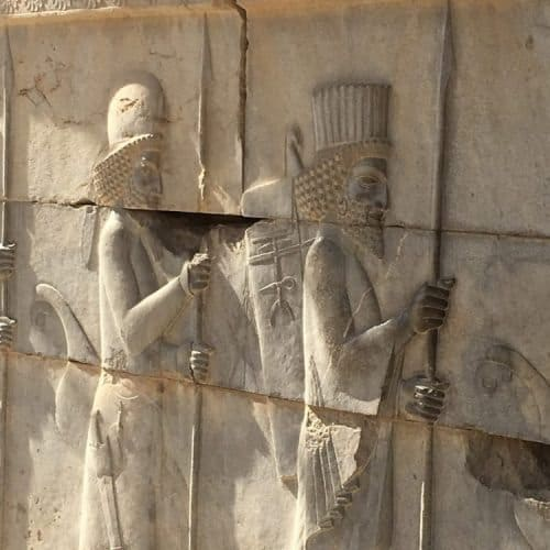 At Persepolis, the ruins tell the story of the many world leaders who came there to see Darius the Great, the third king of the Persian Achaemenid Empire.