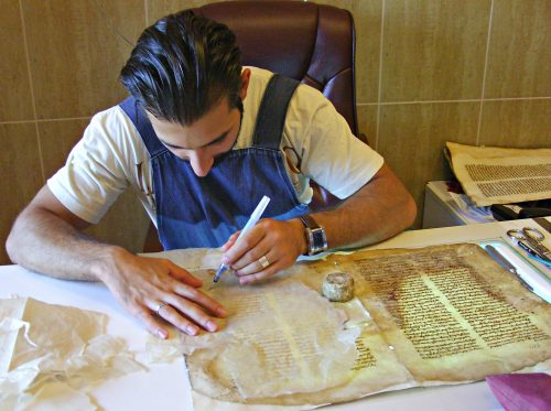 Restoration of ancient manuscripts and the evidence of the Armenian genocide takes place at the Restoration Museum.