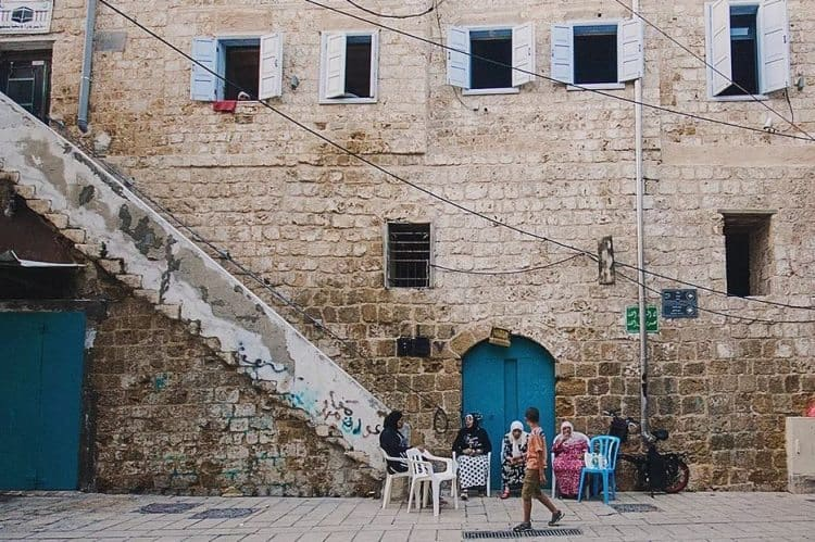 The streets of the old city in Acre, Israel. Maria Kurganova photos.