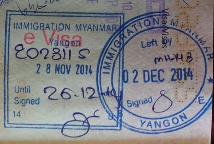 Getting a visa to get in to Myanmar is not difficult nor expensive.