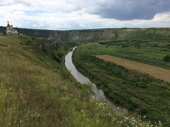 Another great view of Orheiul Vechi, in Moldova. Paul McDougal photos.