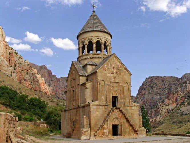 Noravank Monastery—Imagine Moab, with 13th-century charms