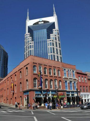Batman Tower, downtown Nashville.