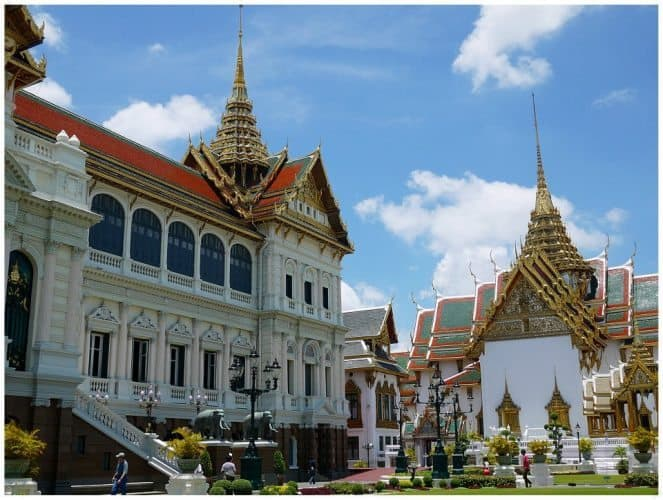 Wat Phra Kaew, the Emerald Buddha temple and the Grand Palace.
