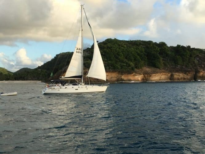Antigua is a sailing capital of the Caribbean, with its fine English Harbor a haven for yachts.