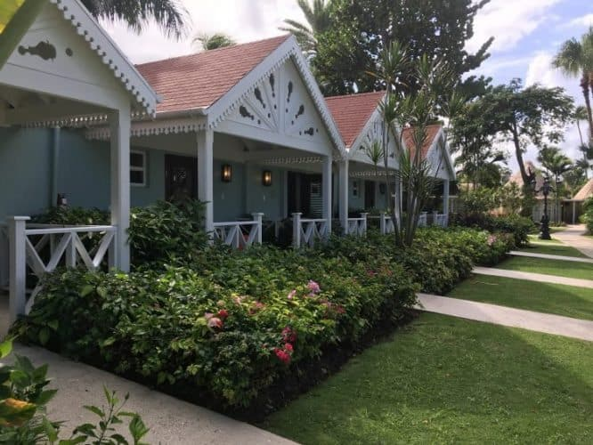 The Caribbean Grove at the Sandals Antigua.