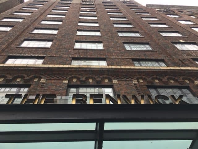 The Renwick Hotel, on West 40th St, a rustic and cozy boutique hotel.