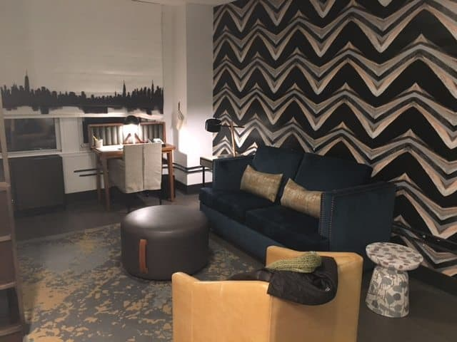 Room 8C, a suite at the Renwick Hotel.