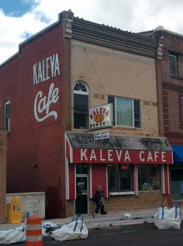 The Kaleva Cafe in Hancock, Michigan.