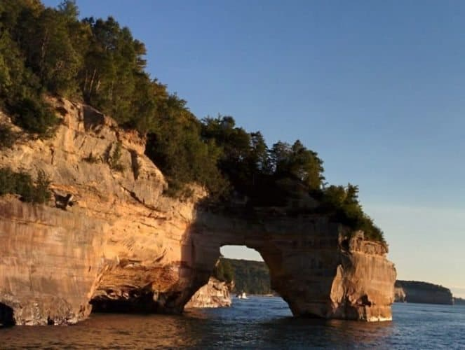 Pictured Rocks in the UP.