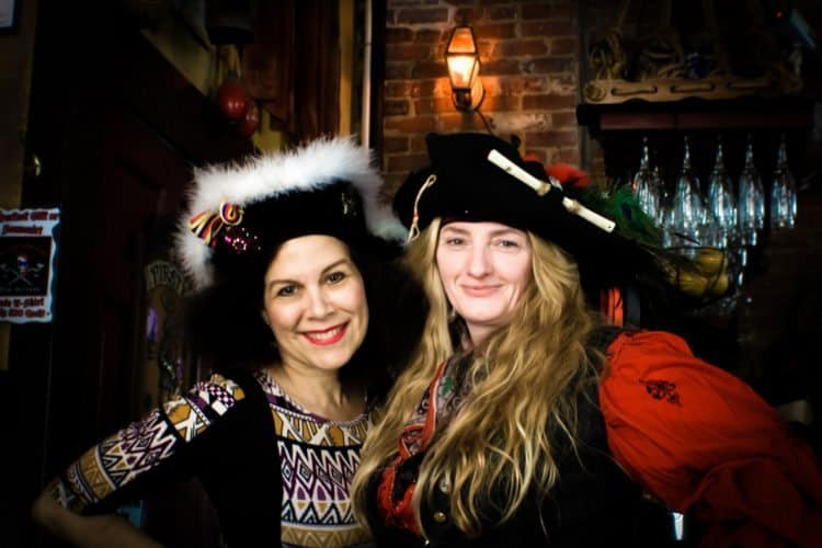 Pirates revel during Pirates Week, 2015 in New Orleans.