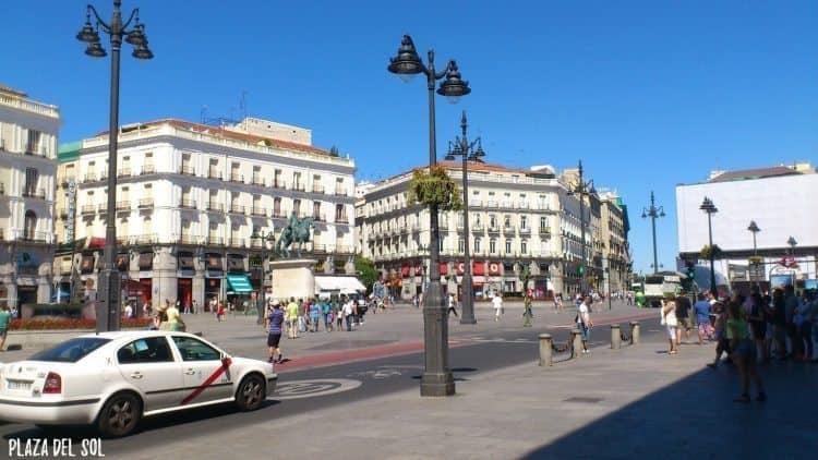 Plaza del Sol Madrid, Spain