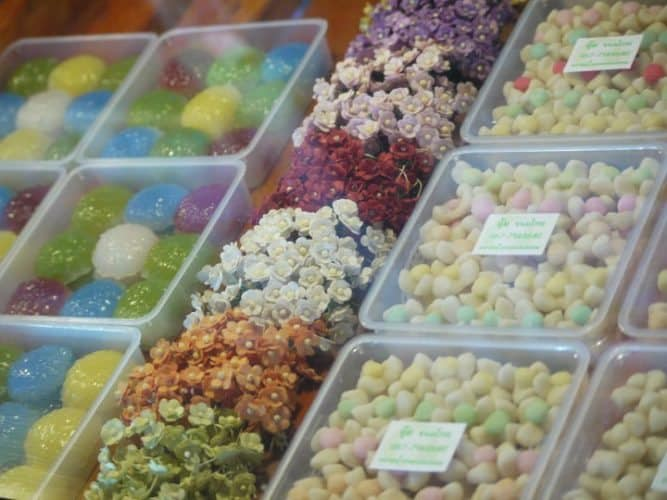 Thailand is famous for its sweets.