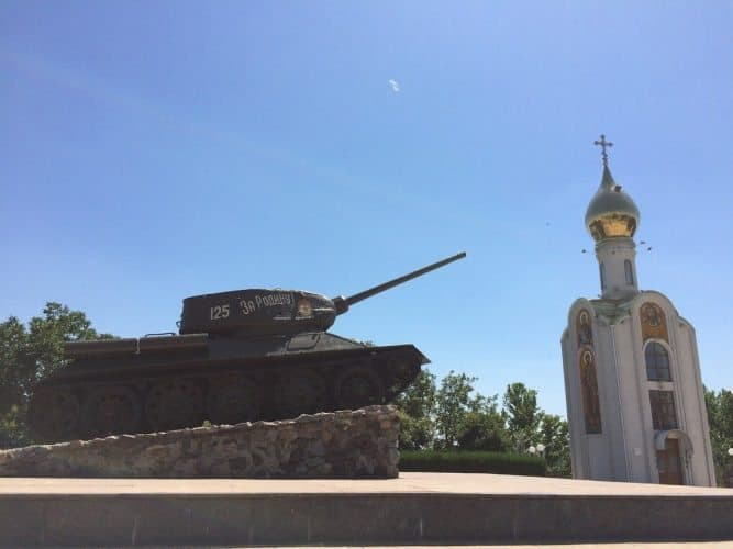 Transnistria is a strange and contradictory mix of the military and the religious
