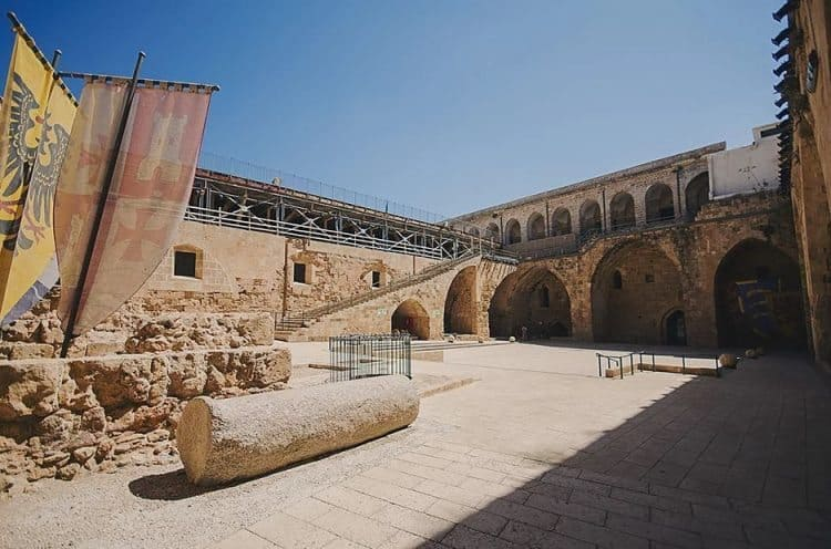 The Citidel in Acre, Israel.