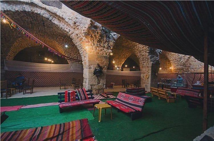 A great spot to smoke a hookah.
