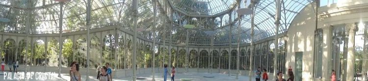 Palace of Crystal in Madrid.