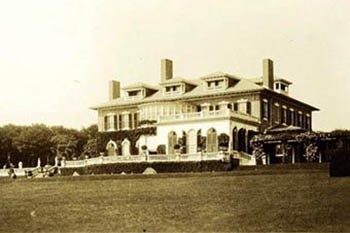 Newport Rhode Island's Famous Mansions in Postcards