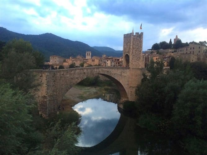 Among numerous medieval towns in the Garrotxa region, don't miss Besalu and its grand Romanesque bridge.