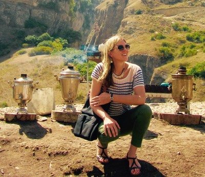 Caroline Eden leads this tour with her expertise in Uzbek culture and cuisine.
