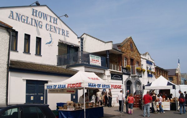 Howth hosts many farmers markets where locals sell their homemade foods and goods.