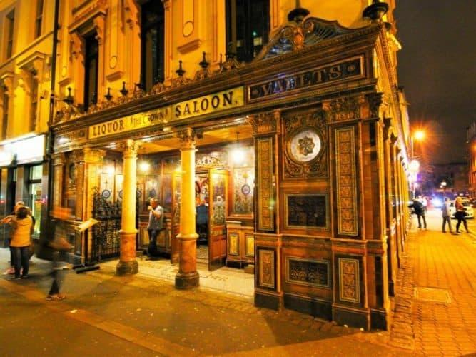 The Crown Saloon, Belfast.