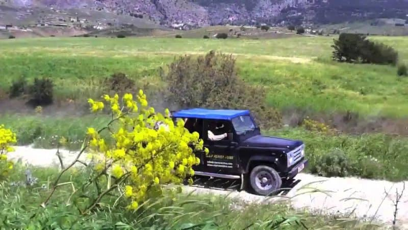 "Active Cyprus offers jeep ""safari"" tours to show visitors the island in a unique and intimate way."