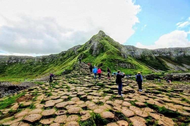Giant's Causeway, a natural phenomenon you can only see on the coast of Northern Ireland. Christopher Ludgate photos.
