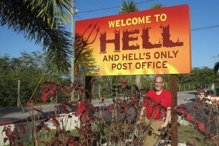 Go to Hell in the Caymans!